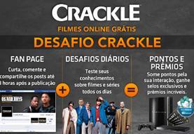 Concurso Cultural Sony Desafio Crackle