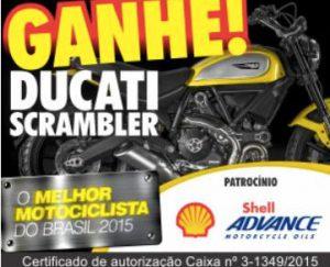 Concurso Cultural Melhor Motociclista do Brasil 2015