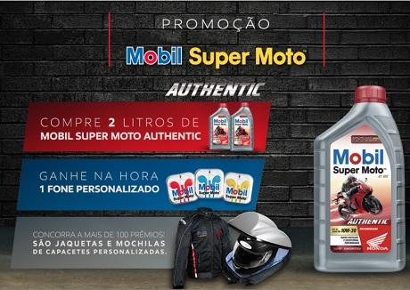 Promoção Mobil Super Moto Authentic