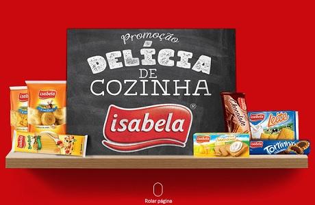 Promoção Isabela Delicia de Cozinha