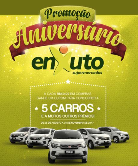 Promoção Aniversário Premiado Enxuto Supermercados
