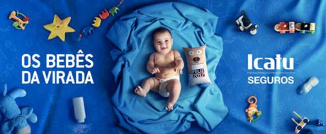 Promoção Icatu Seguros Os Bebês da Virada