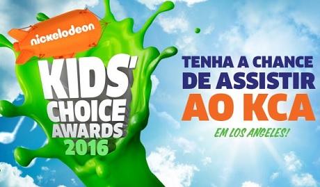 Promoção Kids Choice Awards Nickelodeon