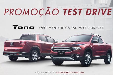 Promoção Fiat Test Drive