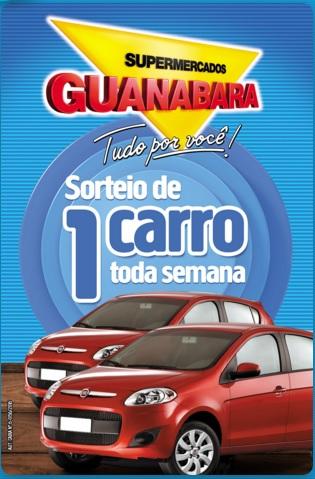 Promoção Supermercados Guanabara Sorteia um carro toda semana