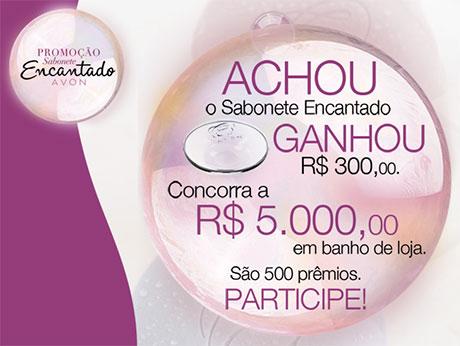 Promoção Avon Sabonetes Encantados