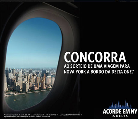 Promoção Delta Air Lines Acorde Em NY