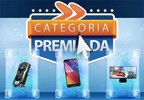 Promoção Kabum Categoria Premiada
