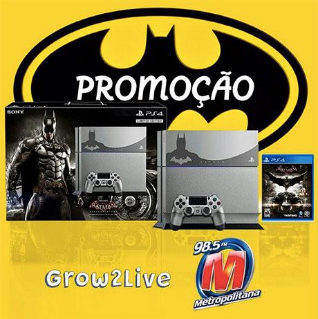 Promoção Metropolitana FM Te dá um Playstation 4
