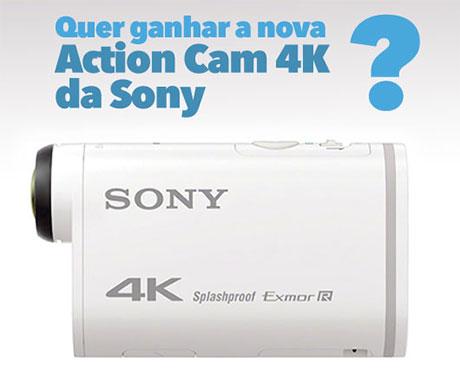 Promoção Mix FM Action Cam