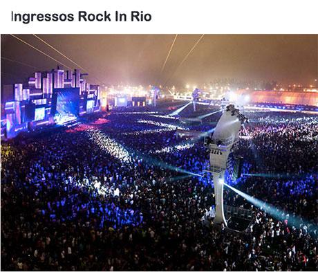 Promoção Mix FM Ingressos Rock in Rio