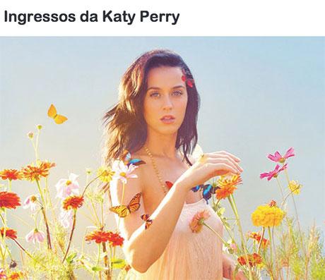 Promoção Mix FM Ingressos Katy Perry