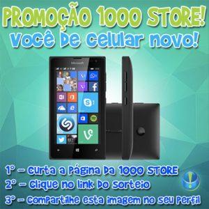 Promoção 1000 Store Você de celular novo