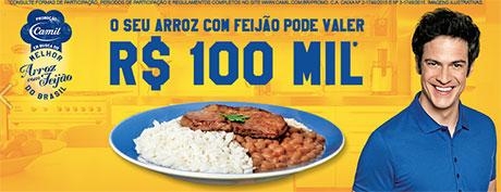 Promoção Camil em busca do Melhor Arroz e Feijão do Brasil