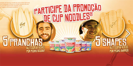 Promoção Cup Noodles