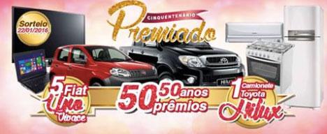 Promoção Cinquentenário Premiado Iquegami Supermercados
