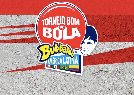 Promoção Torneio Bom de Bola Bubbaloo