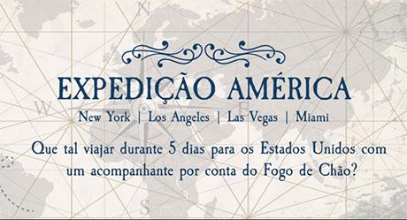 Promoção Fogo de Chão Expedição América