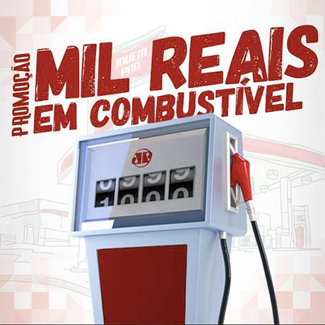 Promoção Jovem Pan Mil reais em combustível