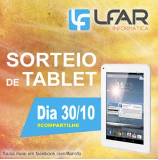 Promoção Quer ganhar um Tablet com Android?
