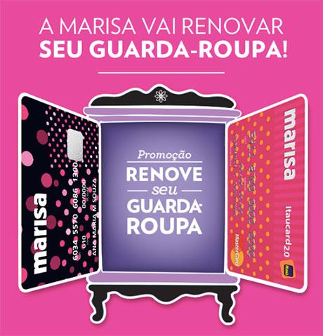 Promoção Marisa Renove seu Guarda-Roupa