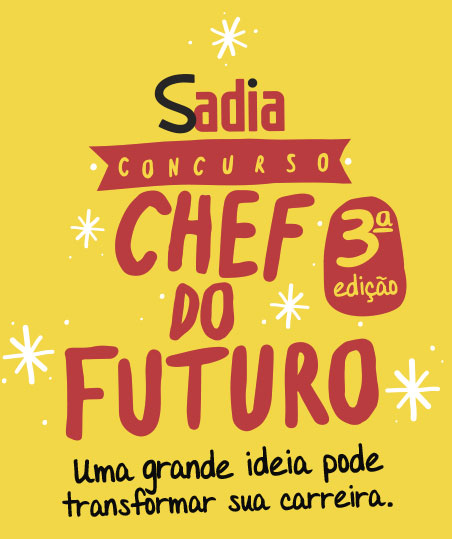 Promoção Chef do Futuro Sadia 2015