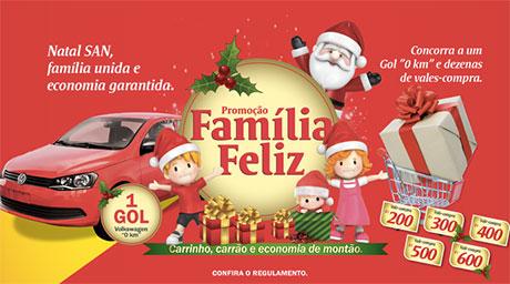 Promoção San Supermercados Família Feliz