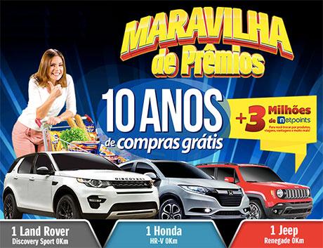 Promoção Supermercados São Vicente Maravilha de Prêmios