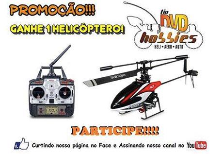 Promoção Ganhe 1 Helicóptero do TIO DVD Hobbies