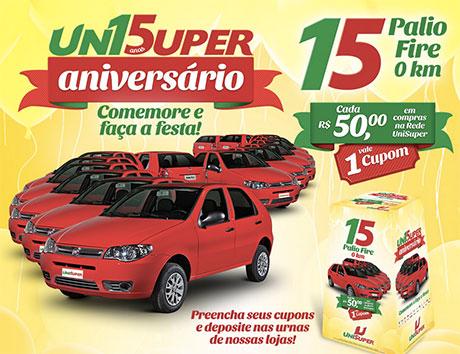 Promoção Aniversário UniSuper