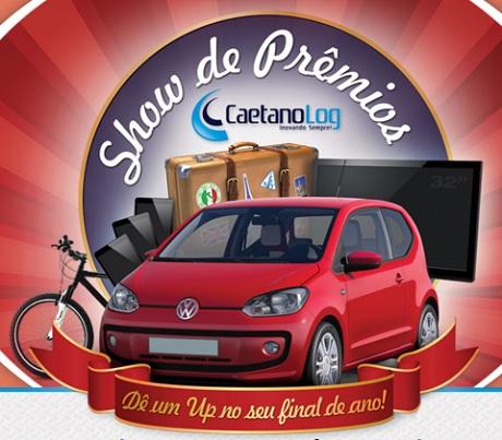 Promoção Show de Prêmios Caetano Log