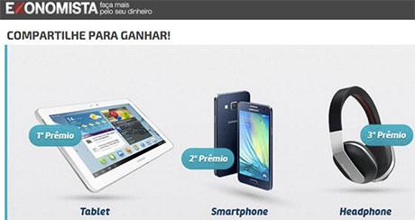 Promoção E-konomista Compartilhe para Ganhar