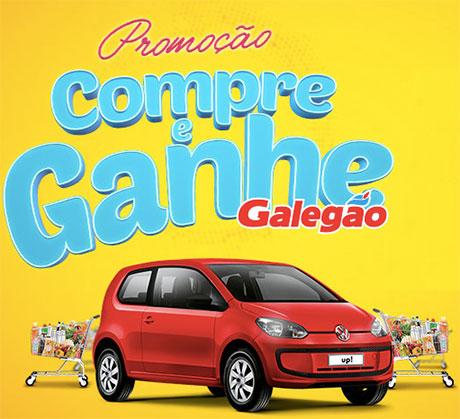 Promoção Compre e Ganhe Galegão Supermercados