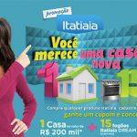Promoção Itatiaia Você merece uma casa nova