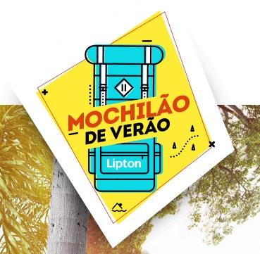 Promoção Mochilão de Verão Lipton