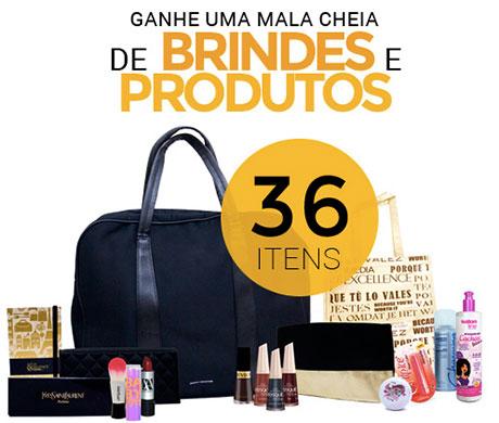 Promoção Lojas Rede Ganhe uma mala cheia de brindes e produtos