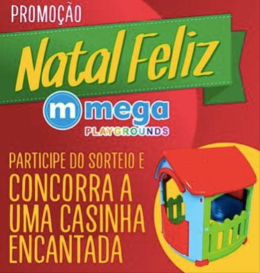 Promoção Natal Feliz Mega Playgrounds