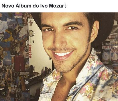 Promoção Mix FM Novo Álbum do Ivo Mozart