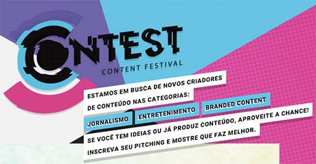 Promoção RBS Contest Content Festival