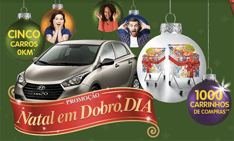Promoção Natal em Dobro Supermercados Dia