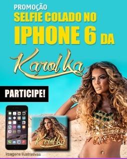 Promoção Transamérica FM Selfie Colado no Iphone 6 da Karol Ka