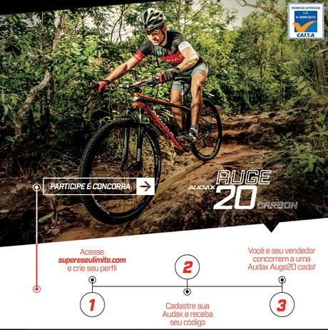 Promoção Audax Bike Supere Seu Limite