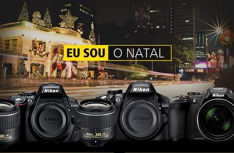 Promoção Nikon Eu sou o Natal