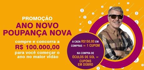 Promoção Óticas Carol Ano Novo Poupança Nova