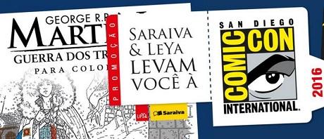 Promoção Saraiva e Leya Levam você ao San Diego Comic Con