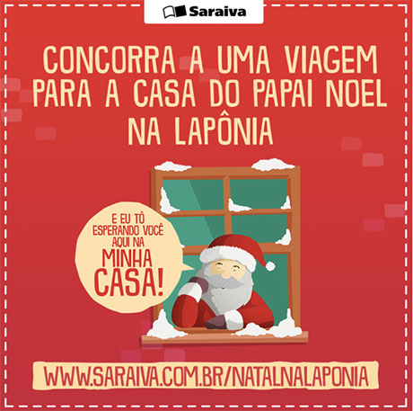 Promoção Saraiva Natal na Lapônia