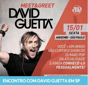 Promoção Jovem Pan Encontro com David Guetta em São Paulo