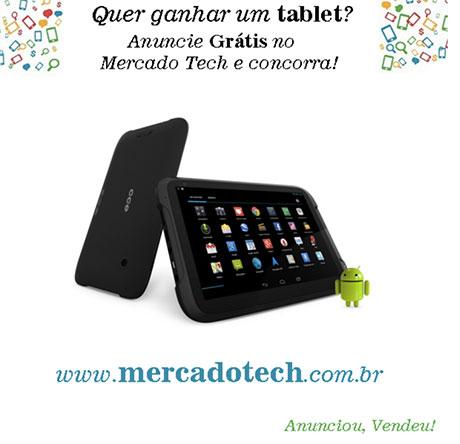 Promoção Mercado Tech Quer ganhar um Tablet?