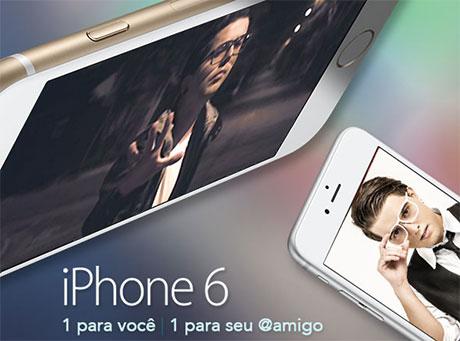 Promoção Mix FM Mais iPhone 6