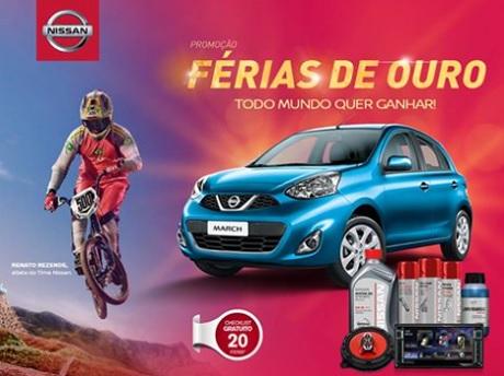 Promoção Férias de Ouro Nissan
